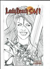 LADY DEATH / SHI #0 ==> NM- SKETCH VARIANT COVER TUCCI & PULLIDO 2006