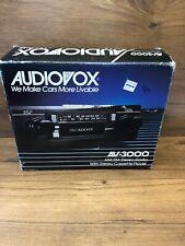 Vintage Audiovox AV-3000 AM/FM Car Stereo Cassette Player