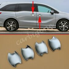 Matte Chrome Door Bowl Cup Cover Trims For Honda Odyssey 2018-2020 Accessories