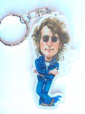 Porte-clé Guitare caricature de John Lennon - The Beatles