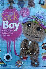 Little Big Planet Sacca Boy giocattolo morbido Knitting Pattern da ALAN Dart - 27cm di altezza