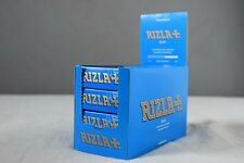 Rizla Cigarette Genuine Rolling Paper Full Box 100 Packs Green - Red - Blue