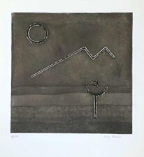 "Max Papart ""Untitled"" Original Etching S/N"