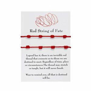 Fashion Handmade Braided Rope Bracelet Bangle Friendship Couple Jewelry Gift NEW