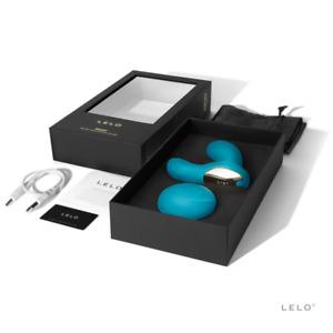 Male-Vibrator Lelo Hugo Prostate Massager Ocean Blue Anal Dildo Plug Butt Sextoy
