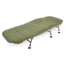 Abode Hollow Fill Quilted Fleece Bedchair Surmatelas Pêche à La Carpe Lit Housse