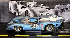 Lola T70 Parnelli Jones #21 Can-Am 1967 azul azul metal 1:18 GMP