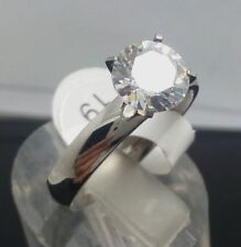 wholesale 6Pcs Zirconia Wedding Promisering  Stainless steel Rings Jewelry Ring