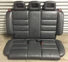 AUDI A2 2000 - 2005 BLACK LEATHER INTERIOR 5 SEAT 3 SEATER REAR BENCH