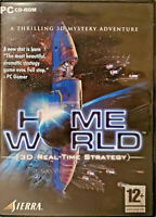 Home World 1999 3D Realtime Strategy CD PC Computer Video Game With CD Key