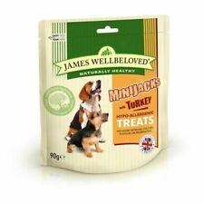 james wellbeloved mini jacks turkey 90g - treat/reward - hypo - allergenic