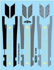 MILSPEC DECALS, 72-005, 1/72 SCALE, F-4 PHANTOM, WALKWAYS & FORMATION LIGHTS