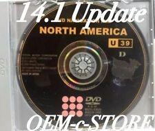 2015 Generation 5 Toyota Lexus Scion Navigation Map Update DVD Ver 14.1 U39