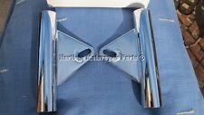 2 FARO DELANTERO CROMADO brackets-norton Mando 1971 on-superb QUALITY 06-2028