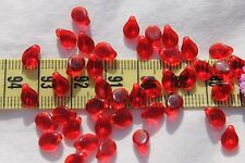 5x7mm Pip Preciosa Czech Glass Beads # 244-L Transparent Ruby  50pcs