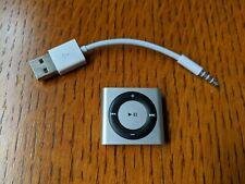 Apple iPod Shuffle 4th Generation 2GB Silver A1373 NICE