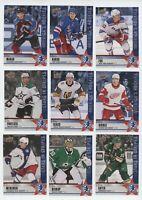 2020 Upper Deck National Hockey Card Day USA Set (16) HUGHES BONUS/MAKAR/ KAKKO+