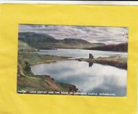 LOCH  ASSYNT  &  RUINS of ARDVRECK  CASTLE    -     SUTHERLAND  ( o73 )
