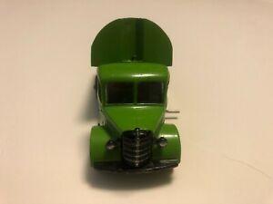Dinky Toys RARE 25v Green Refuse Wagon