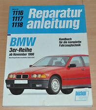 BMW 3er E36 320i 325i M50 ab 1990 Motor Getriebe Buch Reparaturanleitung B1116