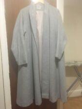 ASOS Long Oversized Grey Swing Coat UK 10