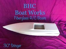 "RC BOAT KIT 30"" fiberglass hull and top"