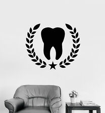"""ThatLilCabin LOVE tooth AS027 6/"""" sticker decal dentistry dental shirt gift"""