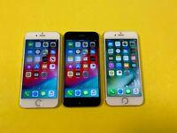 Apple iPhone 6 - 16GB 32GB 64GB 128GB (Unlocked) Gold Gray Silver - Choose Cond