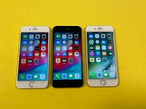 Apple iPhone 6 - 16GB 32GB 64GB 128GB (Unlocked) Gold Gray Silver - Choose Cond