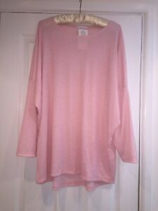 BNWT Lovely comfy baby pink stretchy ribbed lounge suit free size 18/20/22