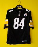 🏈 PITTSBURGH STEELERS #84 ANTONIO BROWN NIKE NFL JERSEY MENS - M
