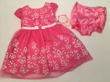 SALE! NEW Jona Michelle Baby Toddler Girls Dress 6M Easter Pink Lace Spring