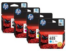 HP 655 Full Set Original Ink Advantage Cartridge CZ109A,CZ110A,CZ111A,CZ112A NEW