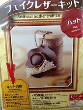 Kawaii Japan DIY Artificial Leather Craft Kit Hat