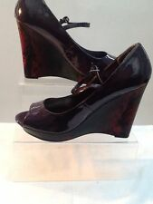 Women's Peep Toes Patent Leather Special Occasion Shoes