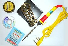 Soldering Kit with Flux, Wik, Soldering led, & Stand, 25w Soldering Iron Quality