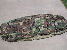 4-Piece Modular Sleep System MSS Military Sleeping Bag ECWS USGI - Minor Issues