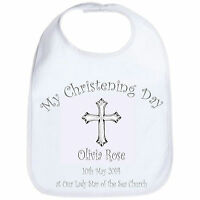 Personalised Baby Bib Christening / Baptism / Naming Ceremony / Special Occasion