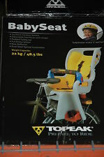 New! Topeak Suspension Babyseat Child Carrier Bike Bicycle Babysitter Ii Todson