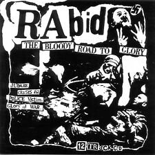 RABID 'Bloody Road To Glory'/'Bring Out Your Dead' punk CD sealed ft. 'Jubilee'