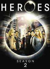 Heroes - Season 2 (DVD, 2008, 4-Disc) New SEALED Peter Fate Vial Deadly Virus
