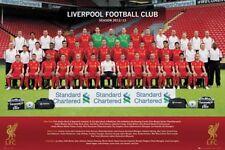 SOCCER POSTER Liverpool Team 2013
