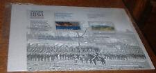 THE CIVIL WAR 1861 FOREVER STAMPS FULL SHEET SEALED