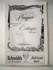 ALL AMERICAN Playbill RAY BOLGER / EILEEN HERLIE Tryout PHILADELPHIA 1962