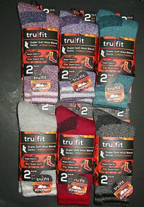 2 Pairs Womens Super Soft Merino Wool Xtreme Thermal Socks Shoe Size 5-10