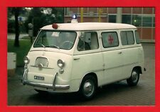 Ambulance Postcard ~ Fiat 600 Multipla Ambulanza: c.1960 - Niccolini of Italy