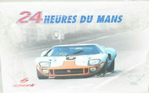1/18 Spark   Ford GT40 Gulf  JW Automotive Engineering 1st Le Mans 24 Hrs 1969