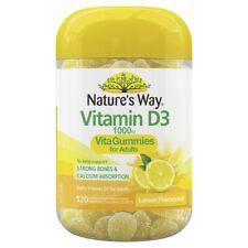 Nature's Way Vita Gummies for Adults Vitamin D 120 Pastilles