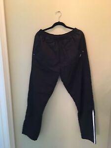 Black & White Addidas Men's Jogging Pant XL