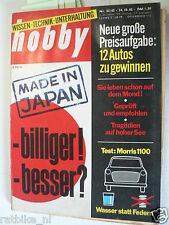 HOBBY 1962-23,ISDE SIX DAYS CROSS,6 TAGE OHNE GENADE,MORRIS 1100 TEST,ZUNDAPP
